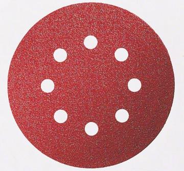BOSCH Brusný papír C430, balení 6 ks 125 mm, 60; 120; 240, 2608605112