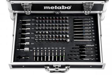 METABO BS 18 Set Akumulátorový vrtací šroubovák 602207910