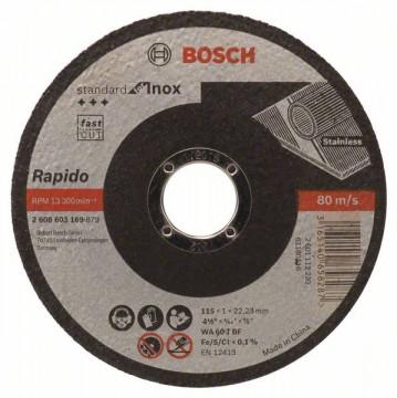 Dělicí kotouč rovný Standard for Inox - Rapido -…