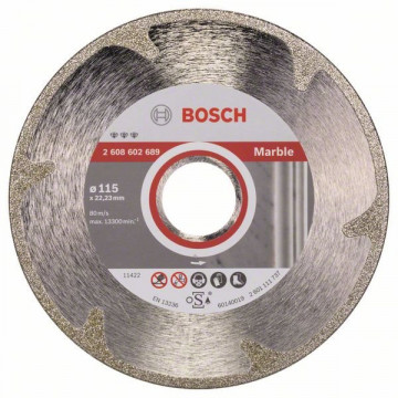 BOSCH Diamantový dělicí kotouč Best for Marble 115 x 22,23 x 2,2 x 3 mm, 2608602689