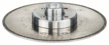 BOSCH Diamantový dělicí kotouč Best for Metal 115 x 22,23 x 2,2 x 4 mm 2608603843