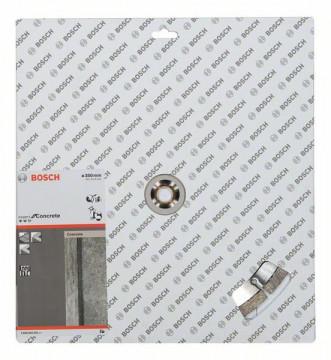 BOSCH Diamantový dělicí kotouč Expert for Concrete 350 x 20,00+25,40 x 3,2 x 12 mm 2608602561