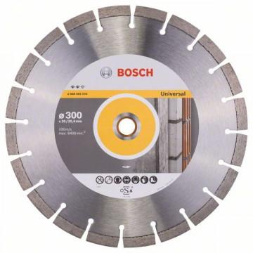 BOSCH Diamantový dělicí kotouč Expert for Universal 300 x 20/25,40 x 2,8 x 12 mm 2608602570
