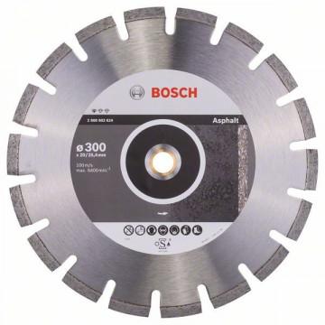 Diamantový dělicí kotouč Standard for Asphalt 300 x 20/25,40 x 2,8 x 10 mm BOSCH 2608602624