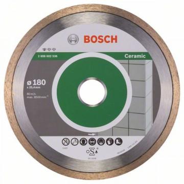 BOSCH Diamantový dělicí kotouč Standard for Ceramic 180 x 25,40 x 1,6 x 7 mm 2608602536