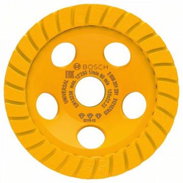 Diamantový hrncový kotouč Best for Universal Turbo 125 x 22,23 x 5 mm BOSCH 2608201231