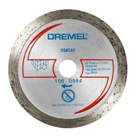 77mm diamantový kotouč - dlažby DREMEL DSM540…