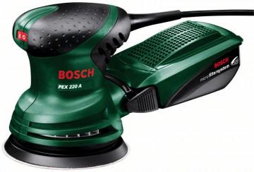 Excentrická brúska Bosch PEX 220 A 0603378020