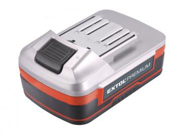 EXTOL PREMIUM Batéria akumulátorová 18V, Li-ion,…