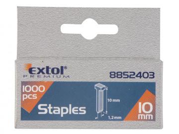 EXTOL PREMIUM klince, balenie 1000ks, 10mm, 2,0x0…