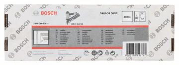 Bosch Hřeb se zápustnou hlavou 64-34 50 NR 50 mm, ušlechtilá ocel
