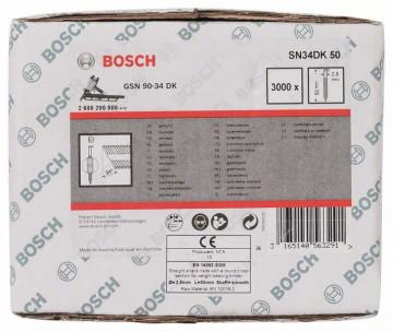 Bosch Hřebíky s hlavou tvaru D v pásu SN34DK 50 2…
