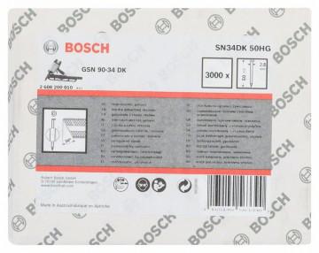 Bosch Hřebíky s hlavou tvaru D v pásu SN34DK 50HG…