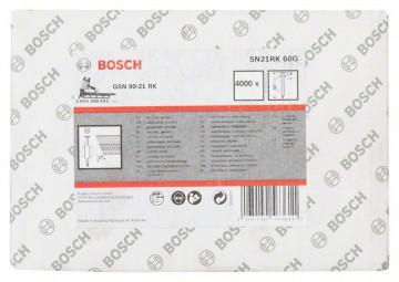 Bosch Hřebíky s kulatou hlavou v pásu SN21RK 60G 2,8 mm, 60 mm, pozinkovaný, hladký