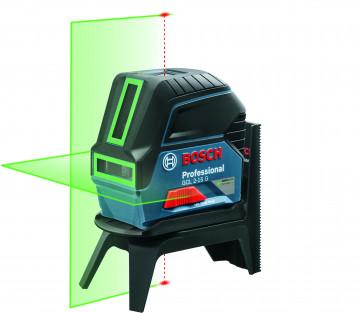 Křížový laser + mount + univerzální držák (nový) + kufr BOSCH GCL 2-15 G + RM 1 + držák + kufr 0601066J00