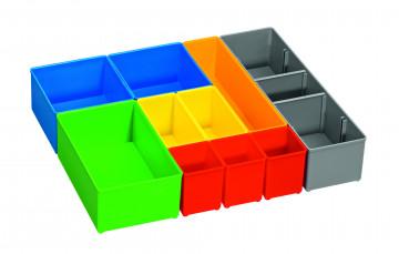 10dílná sada pořadačů pro i-Boxx 72 BOSCH i-Boxx 72 inset box set 10 pcs PROFESSIONAL 1600A001S6