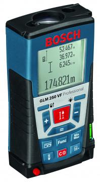 Laserový dálkoměr s integrovanou optikou BOSCH GLM 250 VF Professional 0601072100