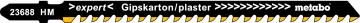 METABO - 1 plátek pro přímočaré pily, sádrokarton, expert, 106/4,3mm