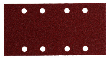 METABO 10 brusných kotoučů se suchým zipem 93x185 mm,P 80,dřevo a kov,SR 625767000