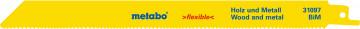 METABO - 2 plátky pro pily ocasky, dřevo a kov,…