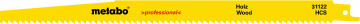 METABO - 2 plátky pro pily ocasky, dřevo, profes.…