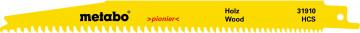 METABO - 5 plátků pro pily ocasky, dřevo, pionier, 200x1,25 mm