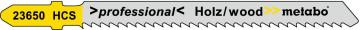 METABO - 5 plátků pro přímočaré pily, dřevo,…