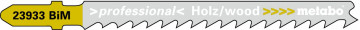 "METABO - 5 PLÁTKŮ PRO PŘÍMOČARÉ PILY ""CLEAN WOOD PREMIUM"" 74 MM PROGR. - 623933000"