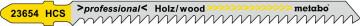 """METABO - 5 PLÁTKŮ PRO PŘÍMOČARÉ PILY """"CLEAN WOOD"""" 91MM/ 3,0 - 623654000"""