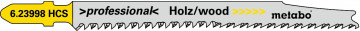 "METABO - 5 PLÁTKŮ PRO PŘÍMOČARÉ PILY ""CLEAN WOOD PREMIUM"" 93/ 2,2 MM - 623998000"