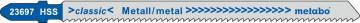 """METABO - 5 PLÁTKŮ PRO PŘÍMOČARÉ PILY """"BASIC METAL"""" 106/ 2,0 MM - 623697000"""