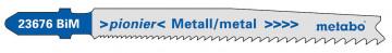 """METABO - 5 PLÁTKŮ PRO PŘÍMOČARÉ PILY """"UNIVERSAL METAL"""" 74MM/PROGR. - 623676000"""