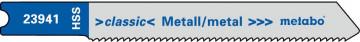 """METABO - 5 U- PLÁTKŮ PRO PŘÍMOČARÉ PILY """"BASIC METAL"""" 52/ 1,2 MM - 623941000"""