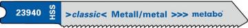 """METABO - 5 U- PLÁTKŮ PRO PŘÍMOČARÉ PILY """"BASIC…"""
