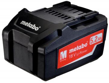 METABO - Akumulátorový článek 18 V, 5,2 Ah, Li…