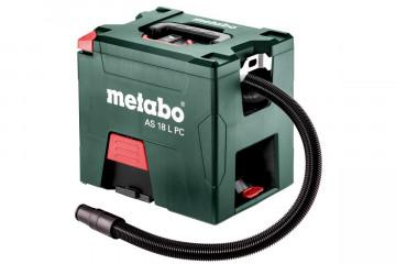 Metabo AS 18 L PC (602021000) Akumulátorový vysavač