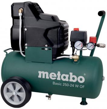 METABO Kompresor bezolejový Basic250-24WOF -…