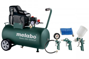 METABO Kompresor Basic 250-50 W OF Set 690988000