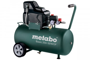 METABO Bezolejový kompresor Basic 250-50 W OF 601535000