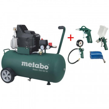 METABO Kompresor třídy Basic 250-50 W + sada…