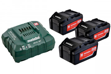 Basic-Set METABO 3 x 5,2 Ah, ASC 30-36 685048000