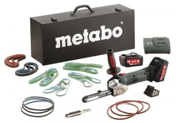 Aku pásový pilník METABO BF 18 LTX 90 Set 4,0 Ah