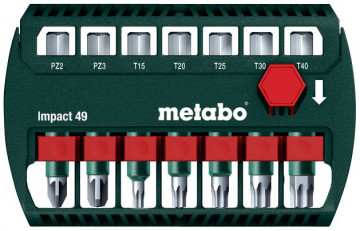 Metabo Box s bity Impact 49, 628850000