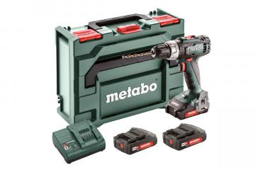 Metabo BS 18 L Akumulátorový vrtací šroubovák + 3 ks aku článků 602321540
