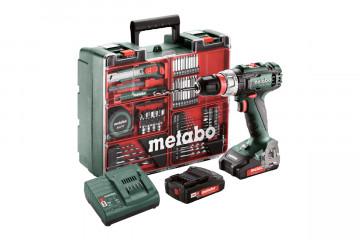 METABO Akumulátorový vrtací šroubovák BS 18 L QUICK SET, 602320870