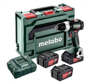 Metabo BS 18 LT BL Set Akumulátorový vrtací šroubovák 602325960