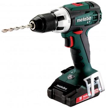 Aku vŕtačka METABO BS18LTCompact 2x2,0 Ah /1-13mm/ - 602102530