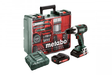 Metabo Aku vŕtačka BS 18 LT MD 2x2,0 Ah 1-13mm 602102600