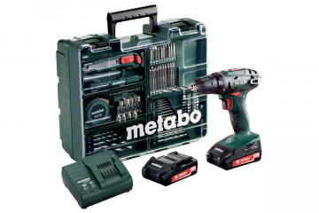 METABO  Aku vrtačka BS 18 MD 2x2,0 Ah 602207880
