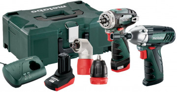 Combo Set 2.1 10.8 V Quick Pro METABO PowerMaxx…